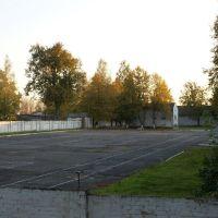 Плац ВЧ возле клуба, Знаменск