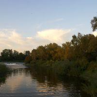 Водопад-осень, Знаменск