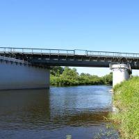 ЖД мост на р.Лава, Знаменск