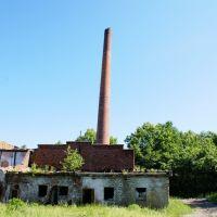 Руины немецкого завода, Знаменск