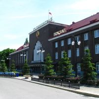 Southern station (earlier Hauptbahnhof), Калининград