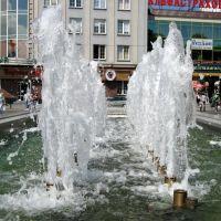 Фонтан на площади Победы (ранее Hansaplatz), Калининград