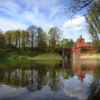 # 98 Chapel, Kaliningrad. Пруд в парке Победы в Калининграде., Калининград