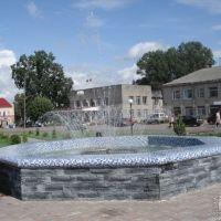 Фонтан в центре города, Краснознаменск