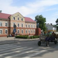 Площадь, памятник гр. Ленину, Краснознаменск