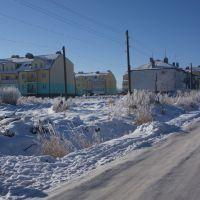 ул. Садовая зимой, Краснознаменск
