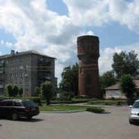 Alter Wasserturm in Mamonovo (Heiligenbeil), Мамоново