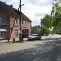 Перекрёсток улиц Чехова и Московская, Мамоново