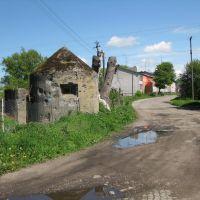 Немецкий дзот на ул.Пограничной, Мамоново