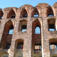 руины замка, Неман