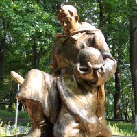 Памятник Воину, Неман
