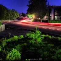 Ночной город. 2009 лето., Нестеров