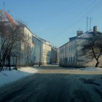 узкая улица, Полесск
