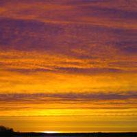 sunrise, Полесск