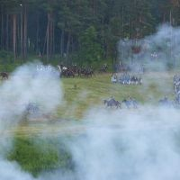 Сражение с Наполеоном. Реконструкция, Правдинск