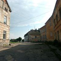 Старая въездная дорога в Правдинск (Правдинск, 2004), Правдинск