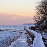 Вид в сторону Светлогорска зимой., Светлогорск