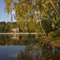Upon Svetlogorsk lake I will dawn - Светлогорское озеро осенью, Светлогорск