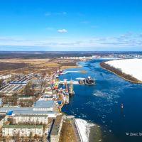 Калининградский морской канал и город Светлый, Светлый
