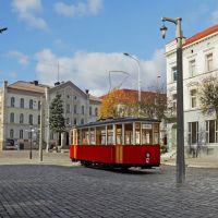 Тильзитский трамвай в Советске., Советск
