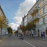Улица Победы в Советске., Советск