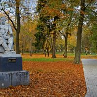 Памятник Михаилу Ивановичу Глинке в Городском парке в Советске., Советск