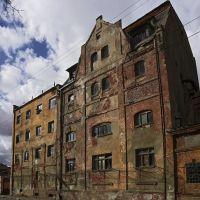 Заброшенный дом на улице Смоленской в Советске., Советск