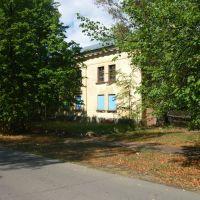 Бывшая заводская столовая, Белый Городок