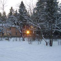 Белый Городок зимой, Белый Городок