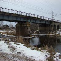 Ж.д. мост через р. Березайка, Березайка