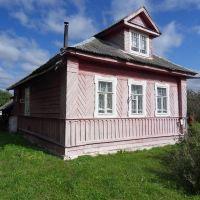 Дом Ведяничевых в Березайке, перевезённый из Острых клеток, Березайка