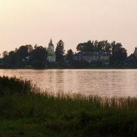 Бологое, вид на озеро, Бологое