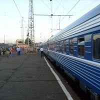 Nachtzug Wolga von Sankt Petersburg nach Vladimir, Бологое
