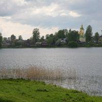 Бологое Вид из-за озера, Бологое
