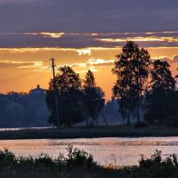 Бологое. Утро и озеро, Бологое