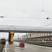 Пешеходный мост, Бологое