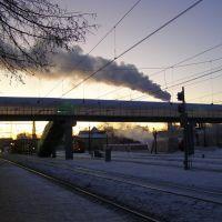 Зимний восход в г. Бологое, Бологое