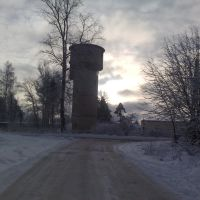 водонапорная башня, Васильевский Мох