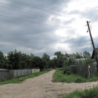 Перекрёсток Рабочей улицы и Первомайской, Васильевский Мох