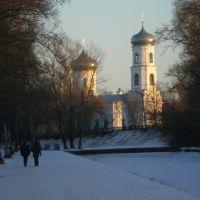 Вышний Волочек - собор зимой, Вышний Волочек