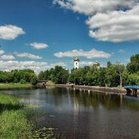 Вышний Волочек. Река Цна. Июль 2012, Вышний Волочек
