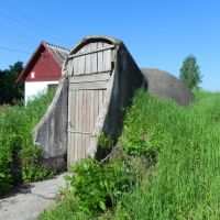 Странное бетонное..., Западная Двина