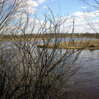 river near Bolnichnaya str., Западная Двина