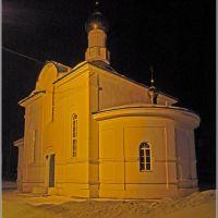Храм в Западной Двине, Западная Двина