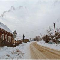 На улице Державина в Западной Двине, Западная Двина