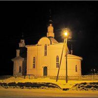 Храм под фонарем в Западной Двине, Западная Двина