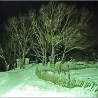 Самое освещенное место ночью в Западной Двине, Западная Двина