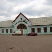 Жд вокзал Западная Двина, Западная Двина