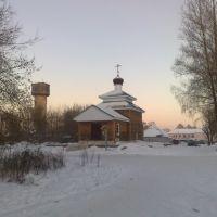 Церковь в посёлке озерки (church in the village Ozerki), Изоплит