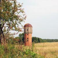 Водонапорная башня в Чевакино, Калинин